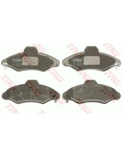 SET PLACUTE FRANA FATA FORD - TRW - Placute de Frana Fata