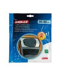 "Set 2 parasolare polyester ""Molly"" 35x45 cm - LAMPA - Parasolare auto"