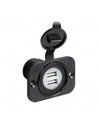Port dublu USB ''Ext-8'' 12/24V - LAMPA - Incarcatoare telefon