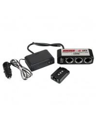 Set 3 prize 12 V cu un incarcator USB DC5V cu telecomanda - LAMPA - Incarcatoare telefon