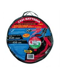 Set cabluri de alimentare baterie EUROPA 450 cm-490 A-35 mm2 - LAMPA - Cabluri pornire