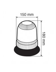 Lampa halogena rotativa 12V - LAMPA - Girofaruri