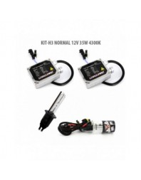 H3 NORMAL 12V 35W 4300K - Carguard - Kit Xenon