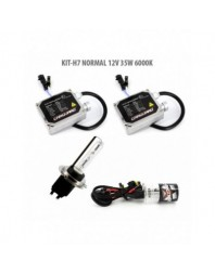 H7 NORMAL 12V 35W 6000K - Carguard - Kit Xenon