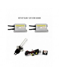 H7 SLIM 12V 35W 4300K - Carguard - Kit Xenon