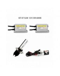 H7 SLIM 12V 35W 6000K - Carguard - Kit Xenon