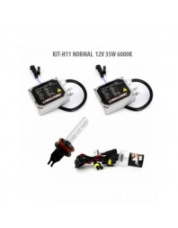 H11 NORMAL 12V 35W 6000K - Carguard - Kit Xenon