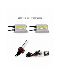 H11 SLIM 12V 35W 4300K - Carguard - Kit Xenon
