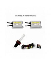 H11 SLIM 12V 35W 6000K - Carguard - Kit Xenon