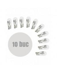 Bec de pozitie T10 12V 5W (W5W) Pret / set de 10buc - Carguard - Auxiliare