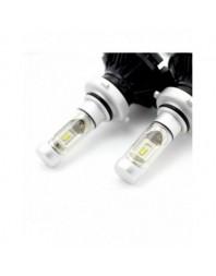 9006-HB4 LED pt faruri 12-24V - 4000 Lumeni Super White - Carguard - Led faruri