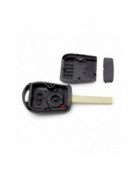BMW - Carcasa cheie 2 butoane cu lama 2 piste (model nou) - Carguard - BMW