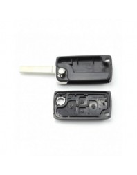 Citroen / Peugeot - Carcasa tip cheie briceag cu 4 butoane, fara suport baterie, model VA2-SH4 - Carguard - Carcase de chei