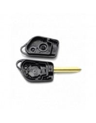 Citroen / Peugeot - Carcasa cheie cu 2 butoane - Carguard - Carcase de chei
