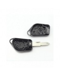 Citroen / Peugeot - Carcasa cheie cu 2 butoane si suport de baterie - Carguard - Carcase de chei