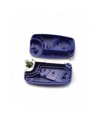 Fiat - Carcasa cheie tip briceag, 3 butoane, albastru - Carguard - Fiat