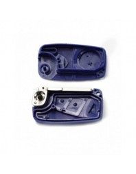 Fiat - Carcasa cheie tip briceag, 2 butoane, albastru - Carguard - Fiat