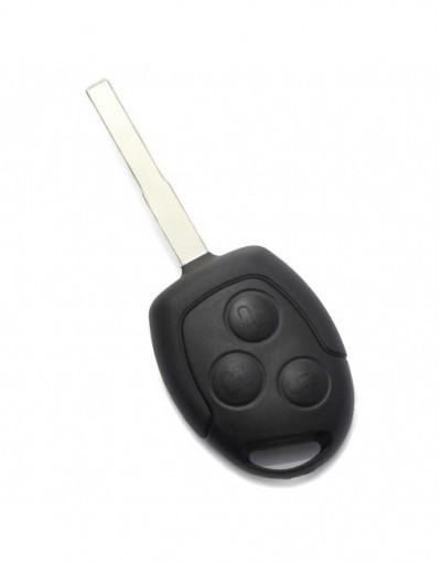 Ford - Carcasa cheie cu 3 butoane si suport baterie - Carguard - Ford