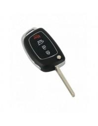Hyundai - Carcasa cheie tip briceag, 3+1 butoane - Carguard - Hyundai