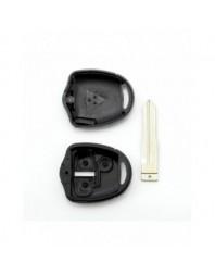 Mitsubishi - Carcasa cheie 2 butoane, lama pe stanga - - Mitsubishi