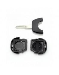 Nissan - Carcasa cheie 2 butoane cu laama NSN11 - - Nissan