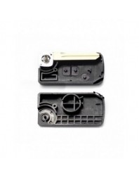 Nissan - Carcasa cheie tip briceag 2+1 butoane, model patrat (modificat) - - Nissan