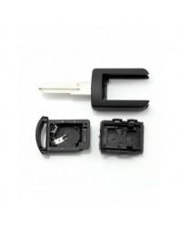 Opel - Carcasa cheie cu 2 butoane, lama pe dreapta - - Opel
