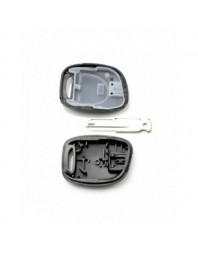 "Dacia / Renault - Carcasa cheie cu 1 buton si lacas baterie, model ""98 - - Carcase de chei"