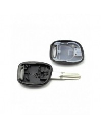 Dacia / Renault - Carcasa cheie cu 1 buton si suport baterie - - Carcase de chei
