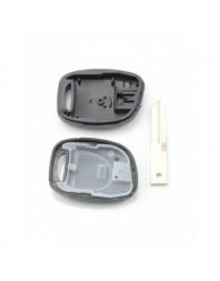 Dacia / Renault - Carcasa cheie cu 1 buton , fara suport baterie - - Carcase de chei