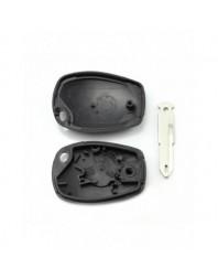 Dacia / Renault - Carcasa pentru cheie tip transponder - - Carcase de chei
