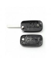 Renault - Carcasa tip cheie briceag cu 3 butoane - - Renault