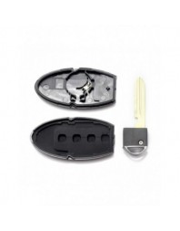 Nissan - Carcasa cheie 3+1 butoane - - Nissan