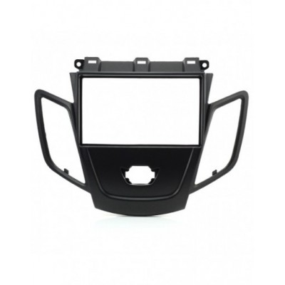 Adaptor 2 DIN FORD Fiesta w/display (Black) 2008-