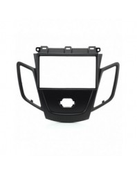 Adaptor 2 DIN FORD Fiesta w/display (Black) 2008- - - Ford