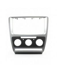 Adaptor 2 DIN SKODA Octavia (Manual Air-Conditioning) Grey 2008-2013 - - Skoda