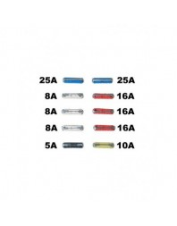 Set 10 sigurante auto Automax fuzibile cilindrice 5-25A - AutoMax Polonia - Sigurante auto