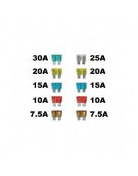 Set 10 sigurante auto Automax plate Mari 7,5-30A - AutoMax Polonia - Sigurante auto