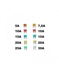 Set 10 sigurante auto Automax plate Mini 5-30A - AutoMax Polonia - Sigurante auto