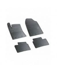 Covorase Hyundai I10 (BA) 2013- , Cauciuc Negre , presuri , negre, 4 buc. - Best Auto Vest - Covorase