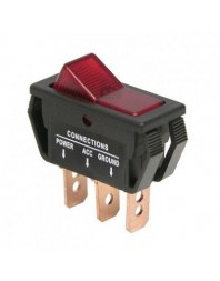 Intrerupator auto Carpoint 12V 20A On/Off 11,60 x 30,90 mm cu 3 papuci electrici - Carpoint Olanda - Intrerupatoare