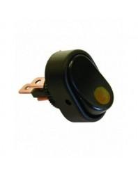 Intrerupator auto Carpoint 12V 30A cu led Galben , 31,20 x 20,00 mm, comutator cu 3 papuci electrici - Carpoint Olanda - Intr...