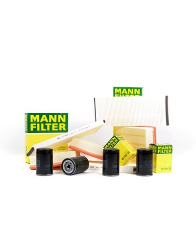 KIT FILTRE MANN AUDI A4 + Cabriolet (8E/8H, B6+B7)   00-08, 1.9 TDI, 74 KW - Mann Filter - Kit Filtre