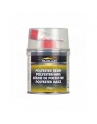 Chit resina poliester Protecton , set reparatie caroserie cu intaritor, panza fibra spatula, 250gr - Protecton Olanda - Chituri