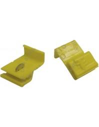 Cuplaj rapid cablu , conector electric 4.0-6.0 mm ˛ , culoare galben - Real Parts Olanda - Papuci electrici