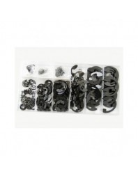 Set 300 agrafe ( E-Clips ) inele de sigurante pentru alezaj - Real Parts Olanda - Piese auto dacia