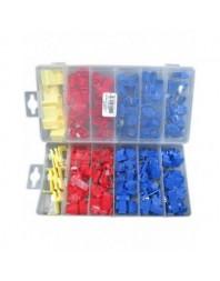 Set cuplaje rapide contacte electrice 60 buc, 3 culori - Real Parts Olanda - Papuci electrici
