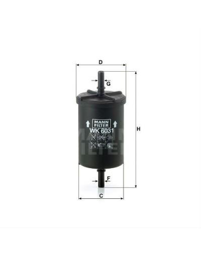 Filtru combustibil - Mann Filter - Home