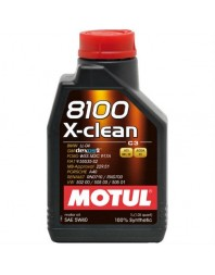 MOTUL 8100 X-CLEAN 5W-40 1L - - Home