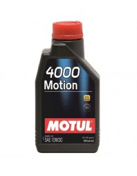 MOTUL 4000 MOTION 10W-30 1L - - Home